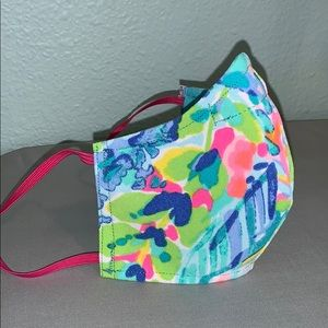 """Catch the Waves"" Lilly print Mask"